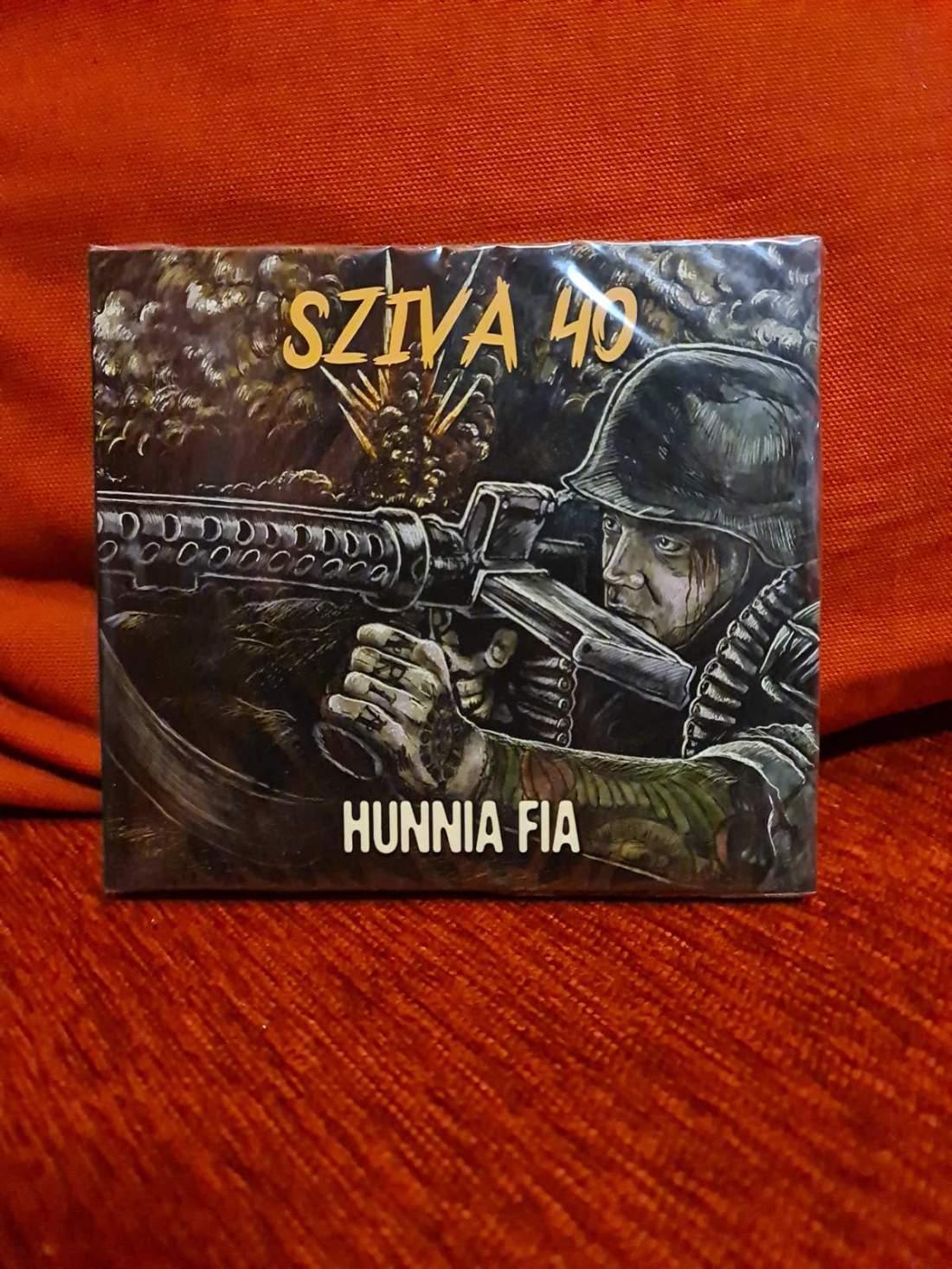 SZIVA BALÁZS - HUNNIA FIA 2CD