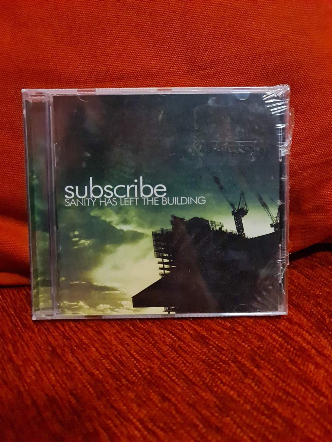 SUBSCRIBE -SANITY HAS LEFT THE BUILDING CD