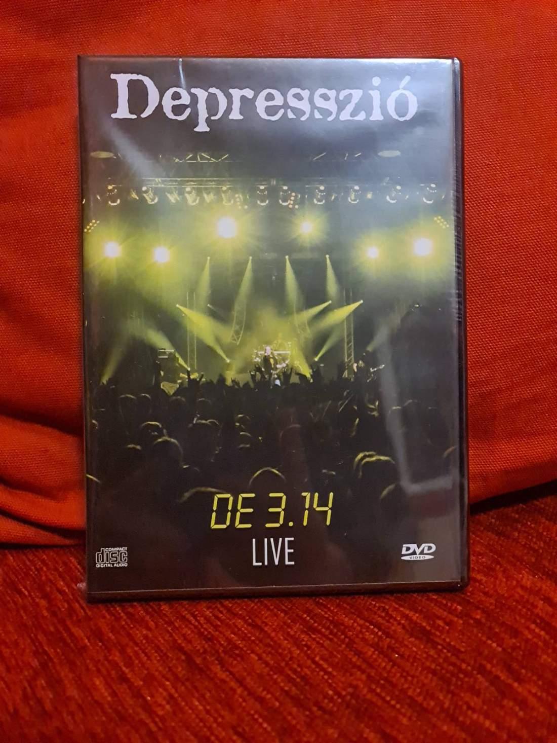 DEPRESSZIÓ - DE3, 14 LIVE DVD