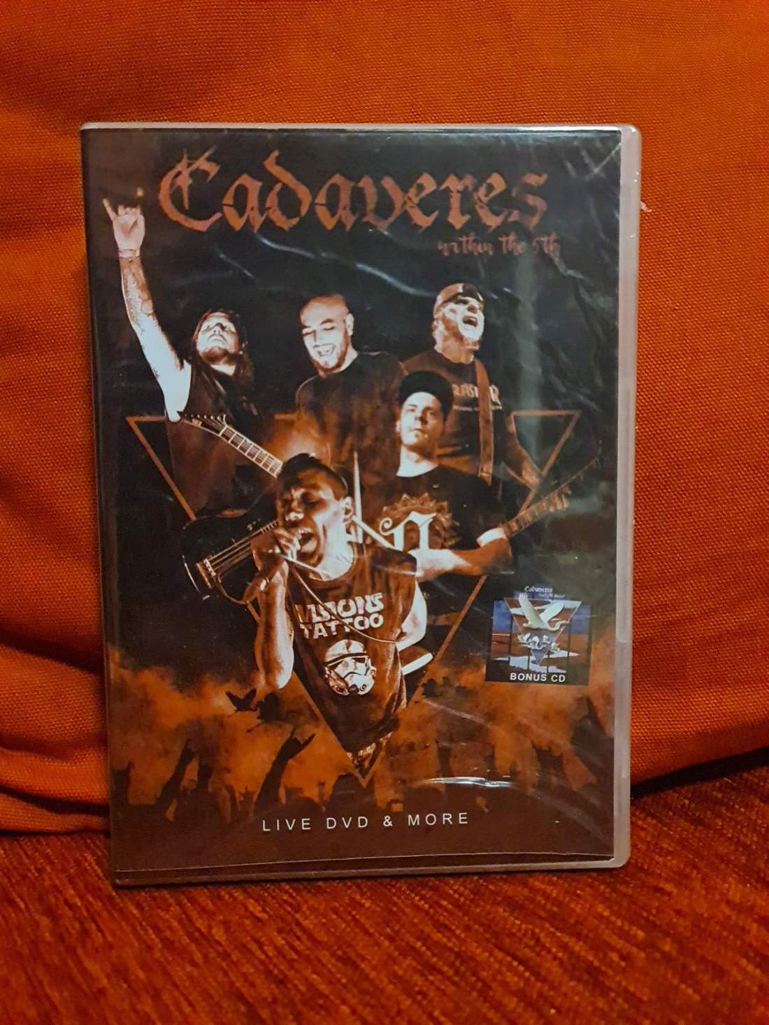 CADAVERES - WITHIN THE 5TH + THE FIFTH HOUSE CD+DVD