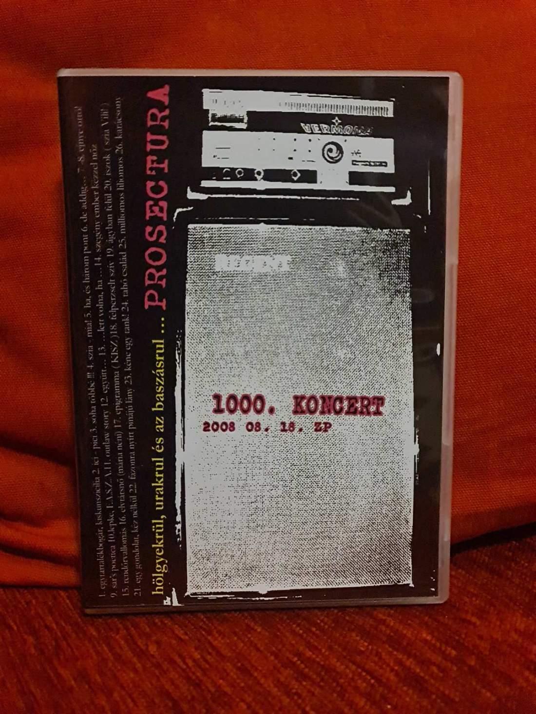 PROSECTURA - HÖLGYEKRÜL, URAKRUL ÉS A B@SZÁSRÚL DVD+CD