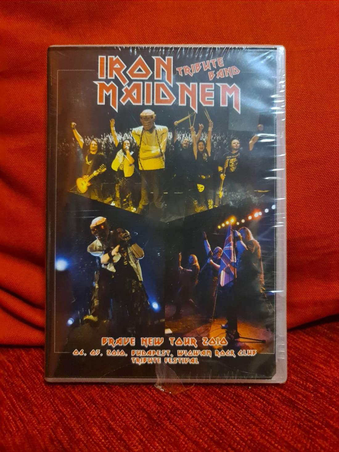 IRON MAIDNEM - BRAVE NEW TOUR 2010 DVD