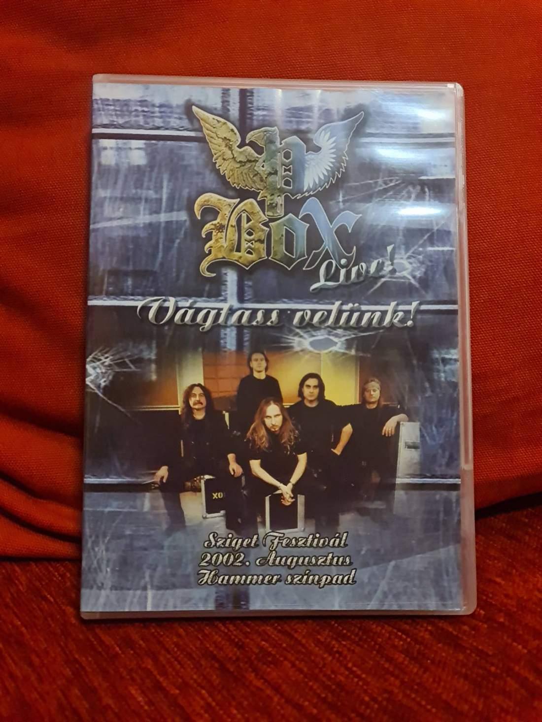 P. BOX - VÁGTASS VELÜNK! LIVE DVD