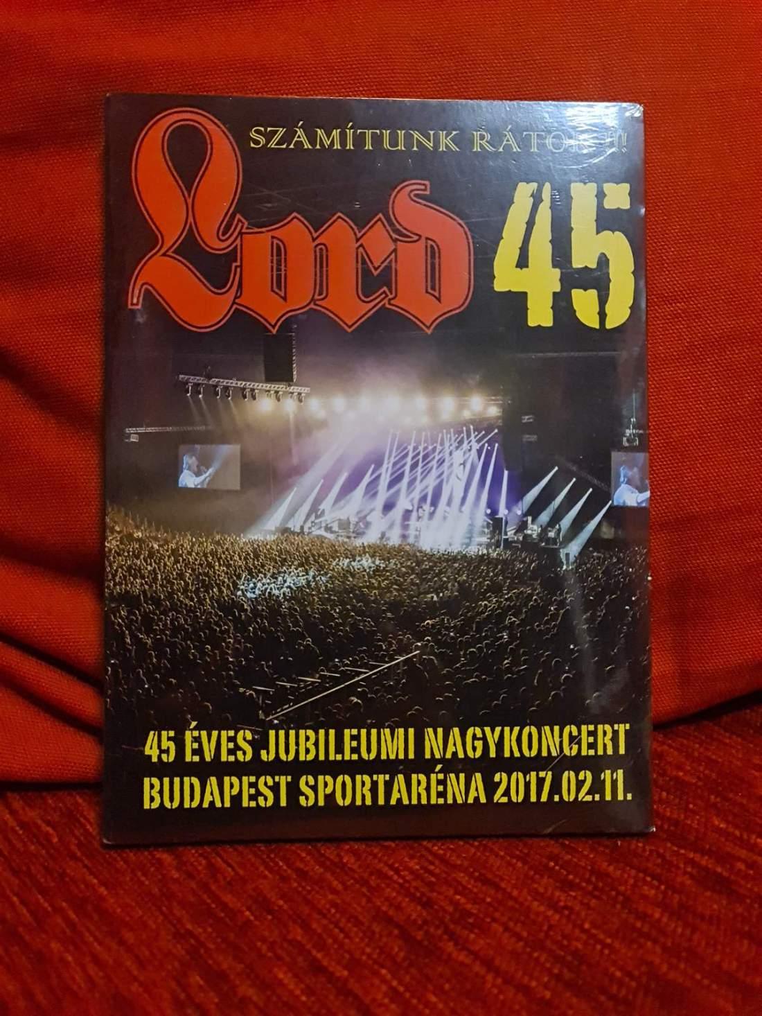 LORD 45 ARÉNA KONCERT - SZÁMÍTUNK RÁTOK DVD
