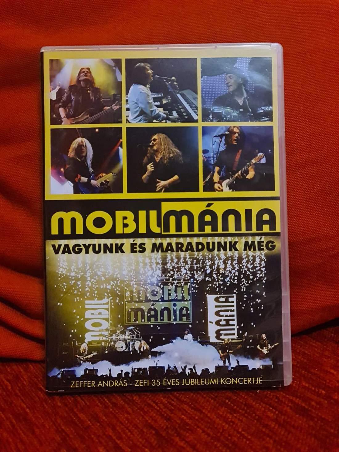 MOBILMÁNIA - VAGYUNK ÉS MARADUNK MÉG DVD