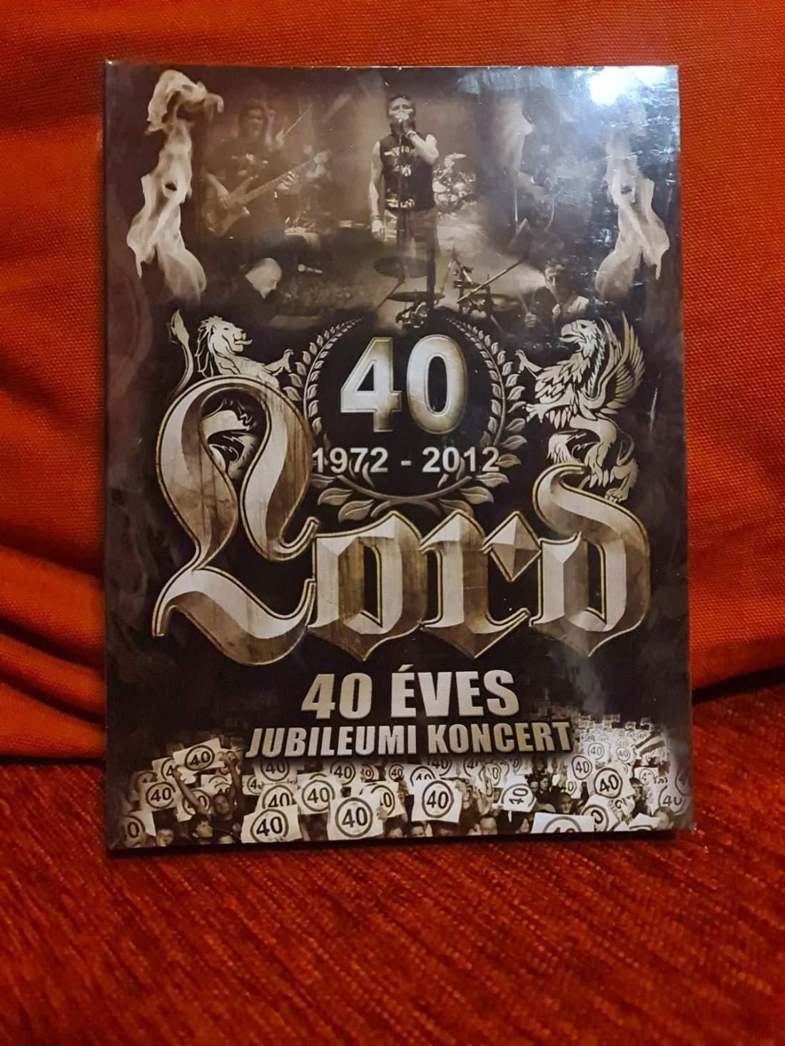LORD - 40 ÉVES JUBILEUMI KONCERT DVD+2CD