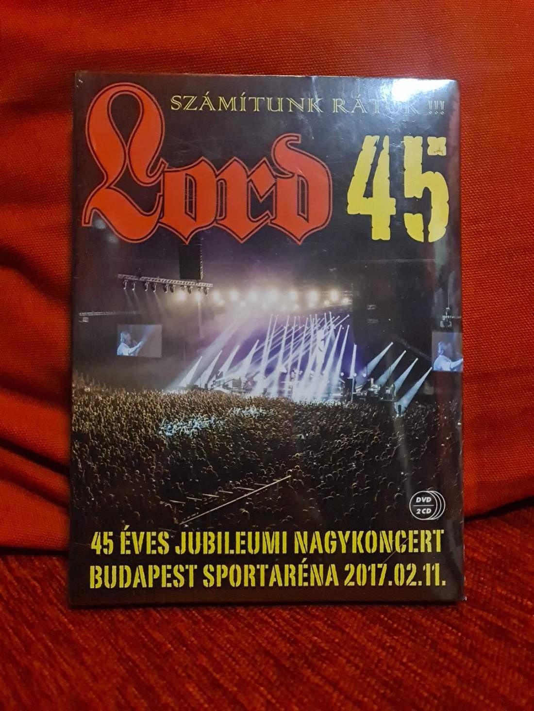 LORD 45 ARÉNA KONCERT - SZÁMÍTUNK RÁTOK DVD+2CD