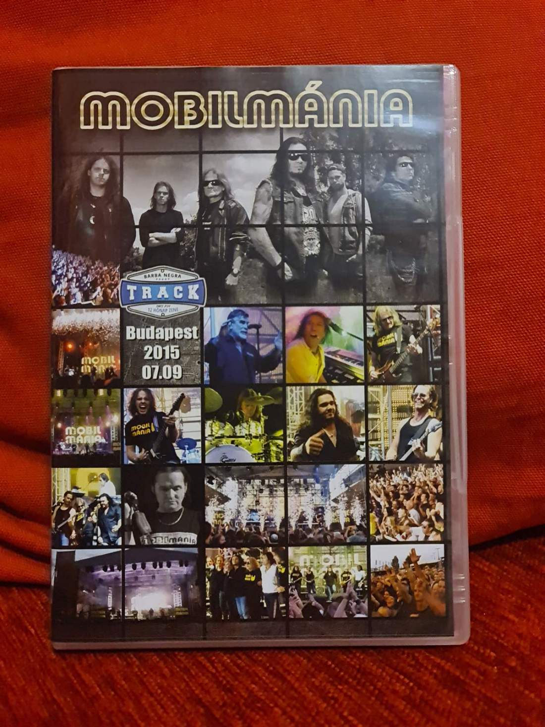 MOBILMÁNIA - FÉNYPOKOL KONCERT DVD