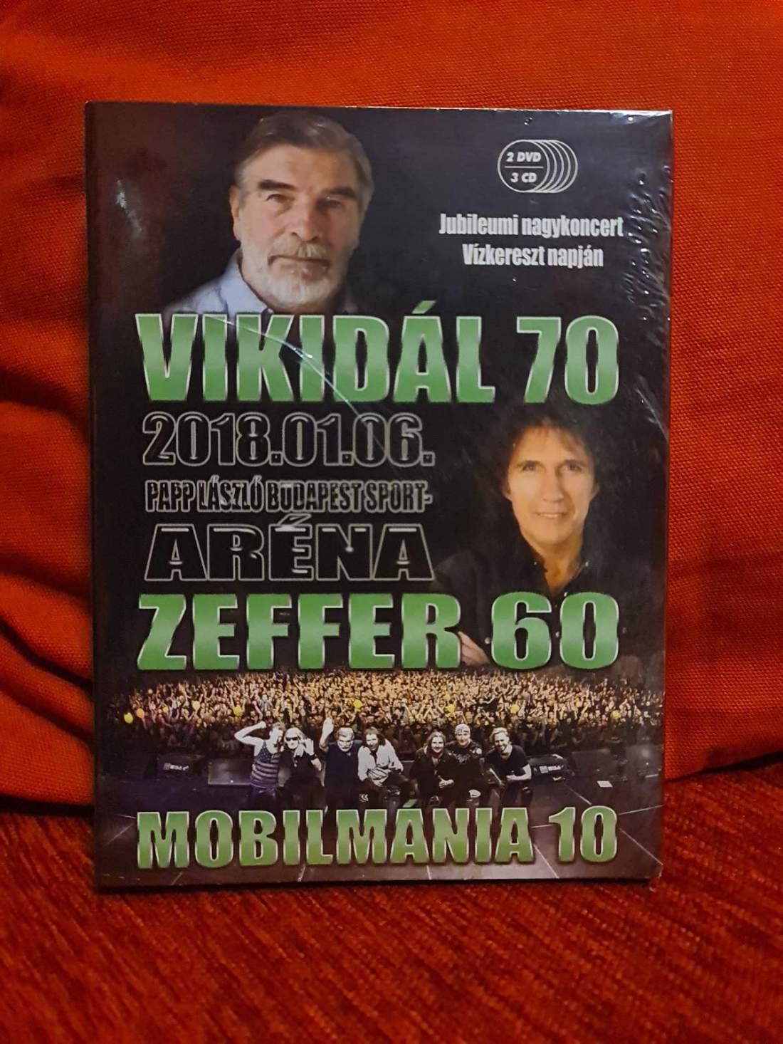 MOBILMÁNIA VIKIDÁL 70 - ZEFFER 60 - 2DVD+3CD BOX