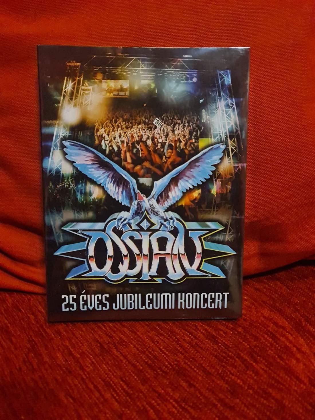 OSSIAN - 25 ÉVES JUBILEUMI KONCERT 2CD+DVD BOX
