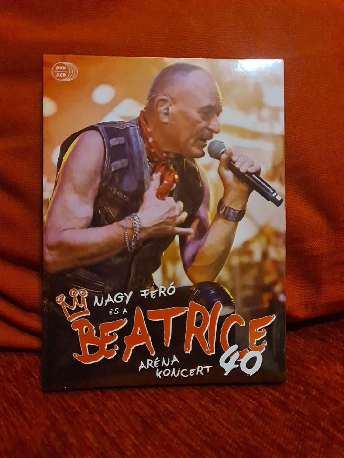NAGY FERÓ ÉS A BEATRICE 40 - ARÉNA KONCERT DVD+3CD