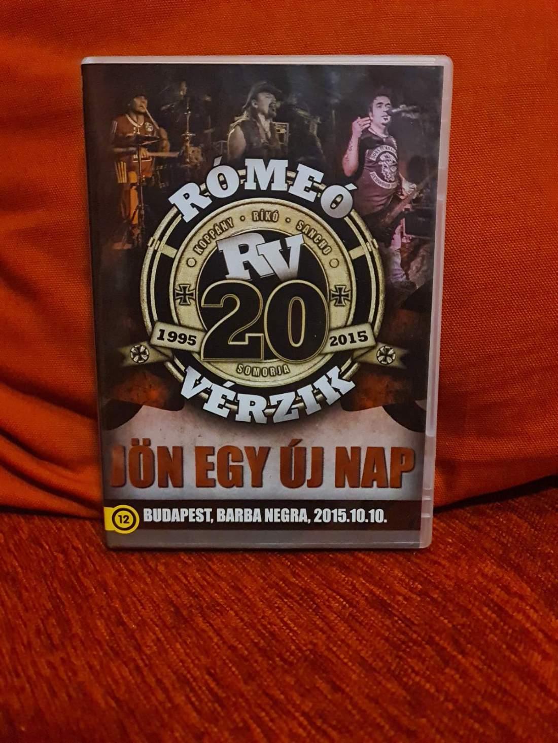 RÓMEÓ VÉRZIK - JÖN EGY ÚJ NAP DVD