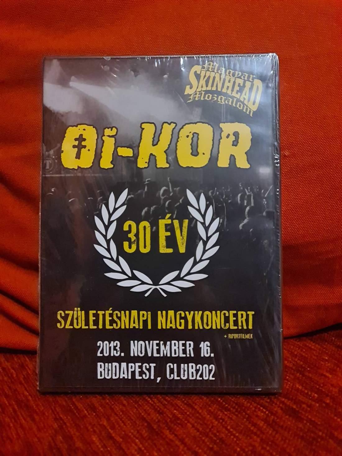 OI-KOR - 30 ÉV DVD