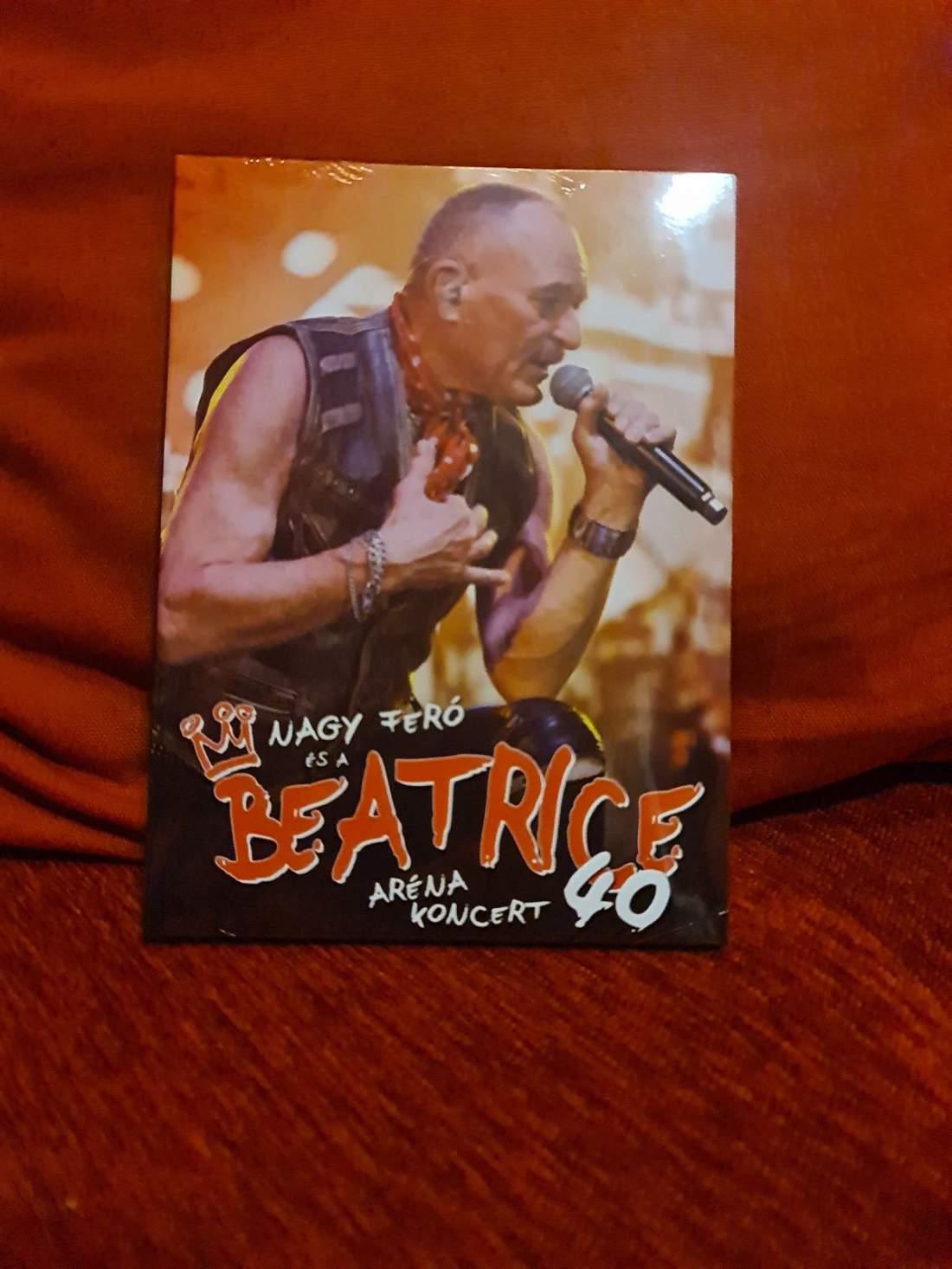 NAGY FERÓ ÉS A BEATRICE 40 - ARÉNA KONCERT DVD