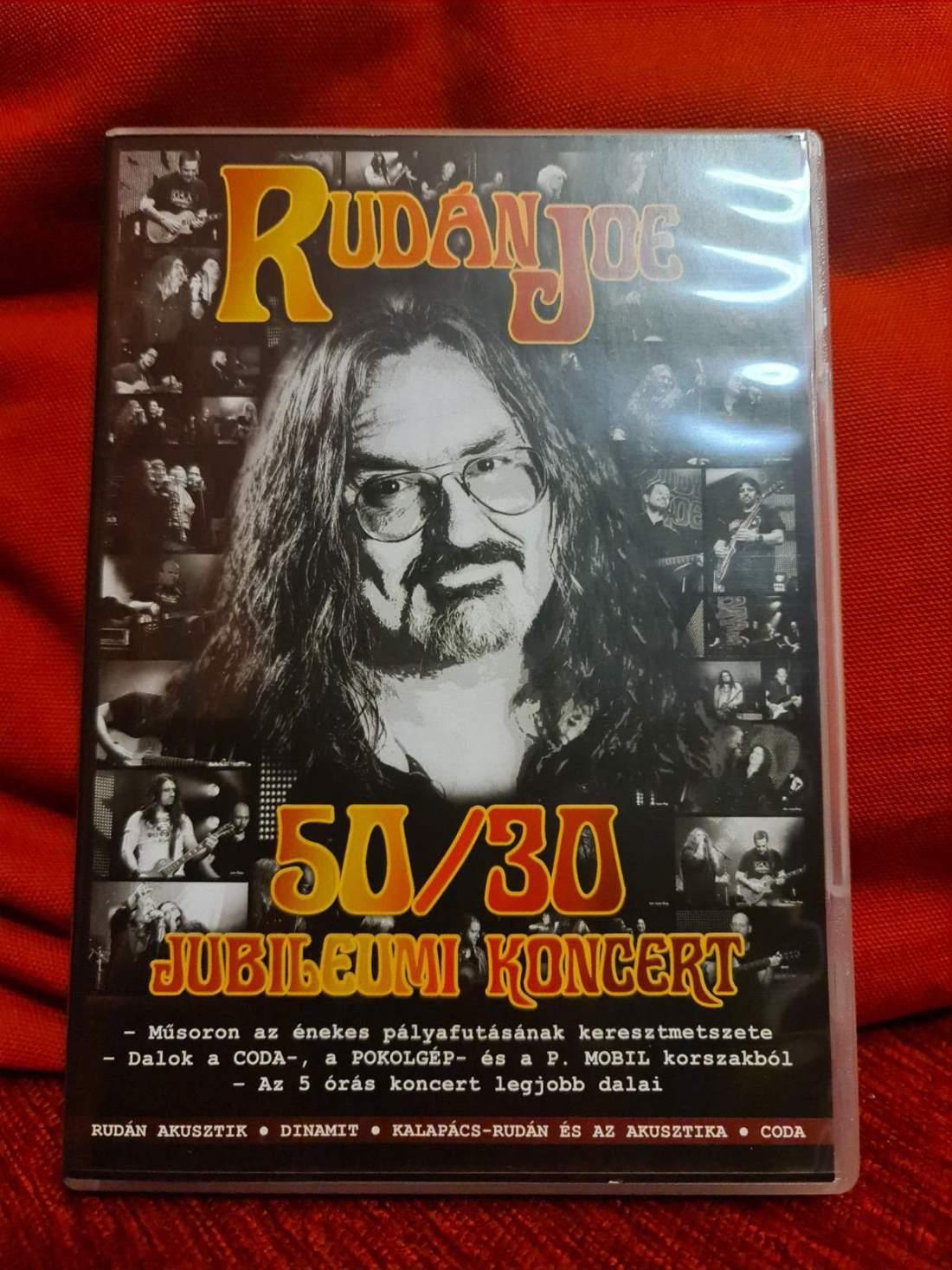 RUDÁN JOE 50/30 JUBILEUMI KONCERT DVD