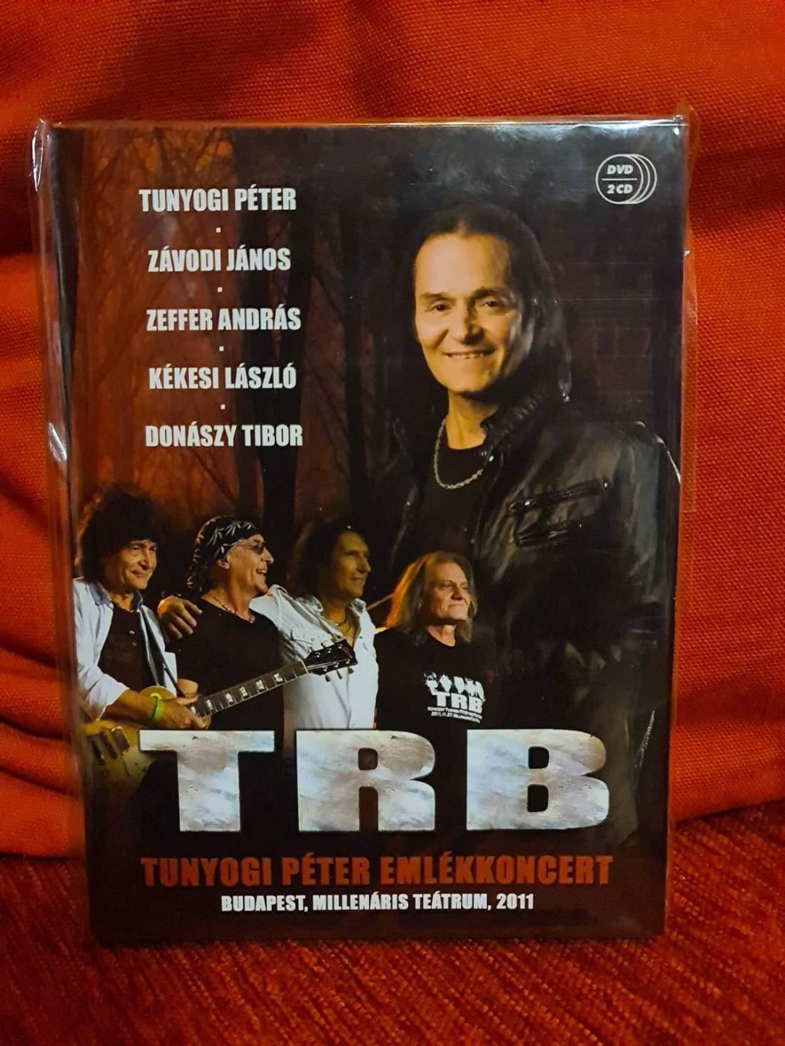 TRB - TUNYOGI PÉTER EMLÉKKONCERT DVD+2CD