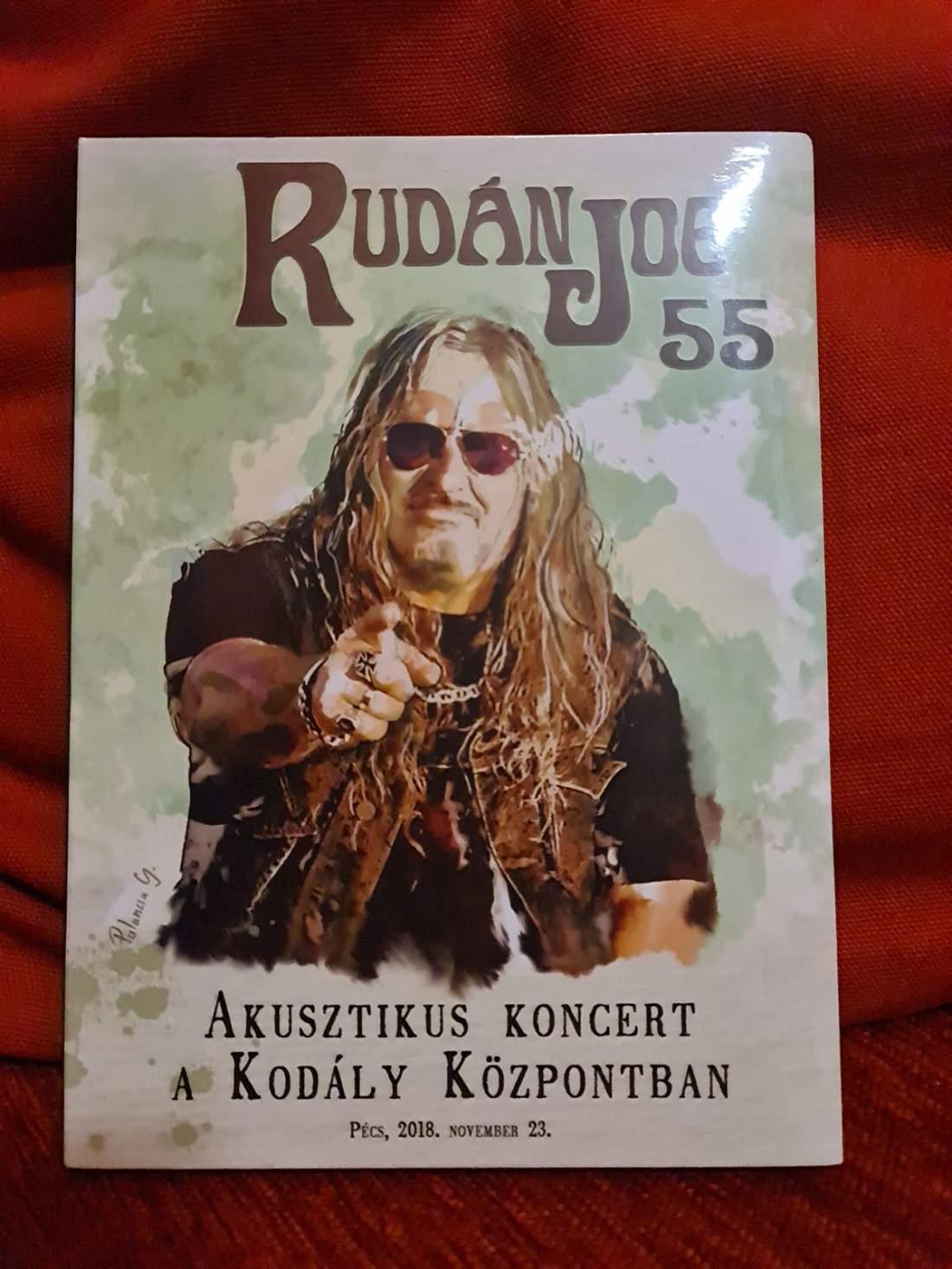 RUDÁN JOE - 55 - AKUSZTIKUS KONCERT A KODÁLY KÖZPONTBAN DVD