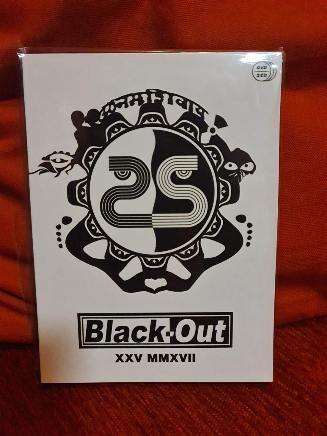 BLACK-OUT XXV MMXVII 25 ÉVES JUBILEUMI KONCERT DVD+2CD
