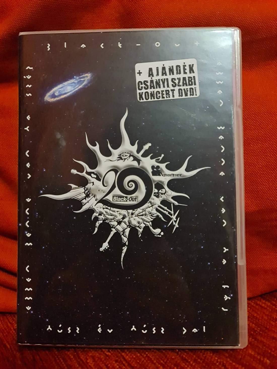 BLACK-OUT - 20 ÉV 20 DAL DVD