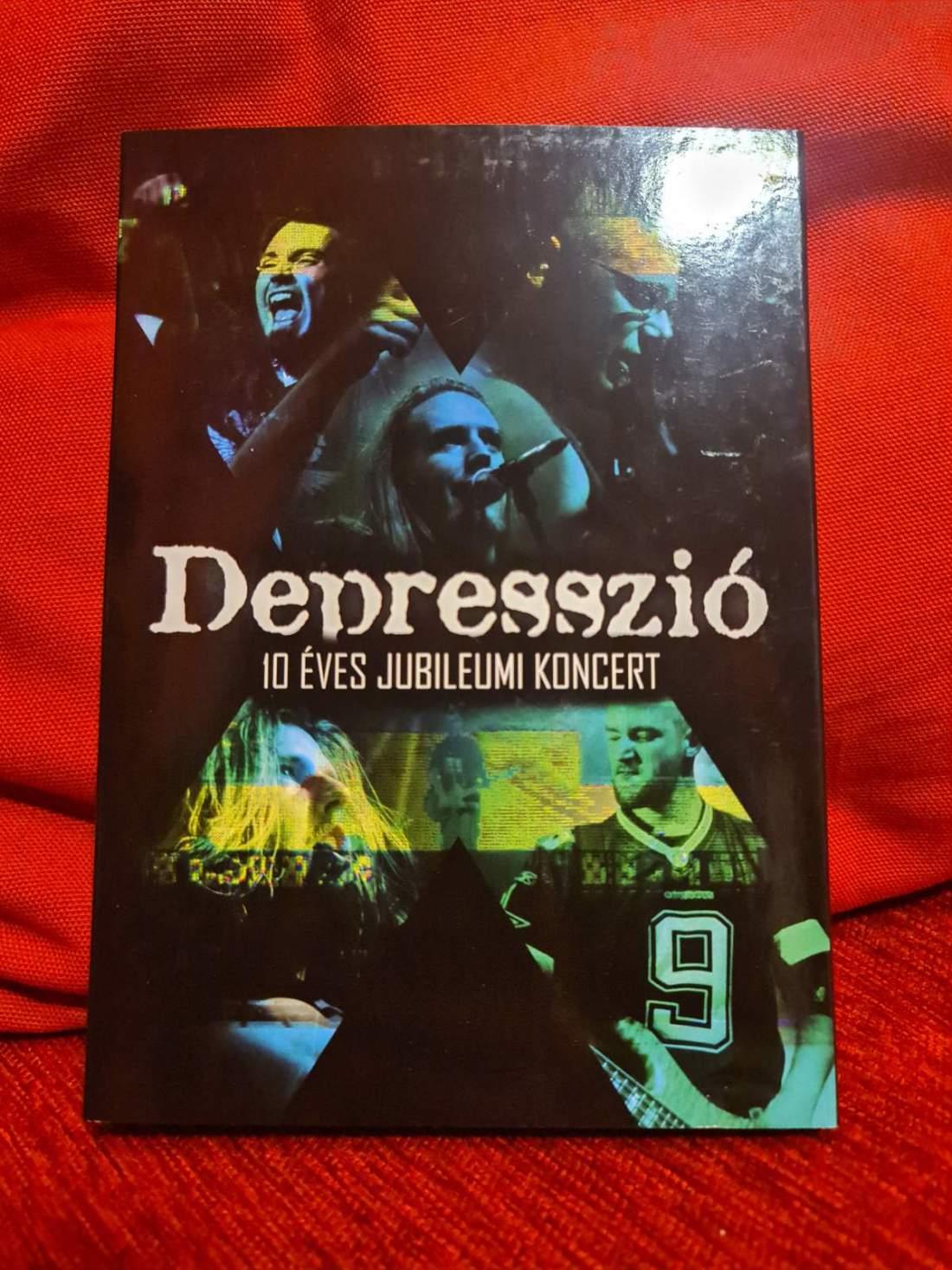 DEPRESSZIÓ - 10 ÉVES JUBILEUMI DVD
