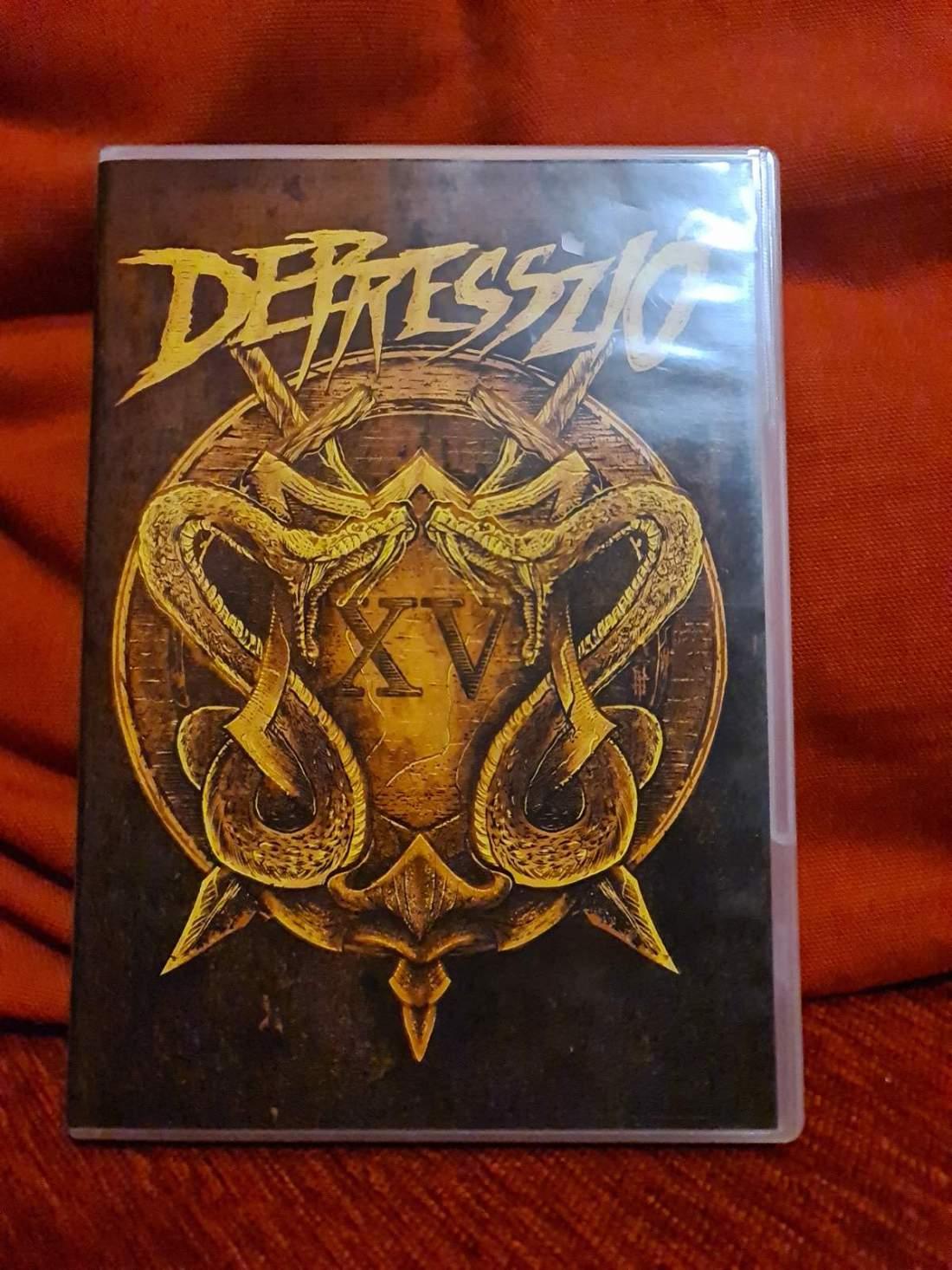 DEPRESSZIÓ - XV - 15 ÉVES JUBILEUMI KONCERT DVD
