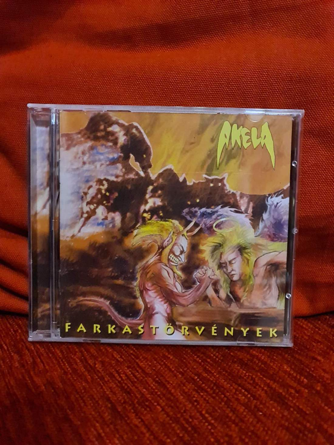 AKELA - FARKASTÖRVÉNYEK CD