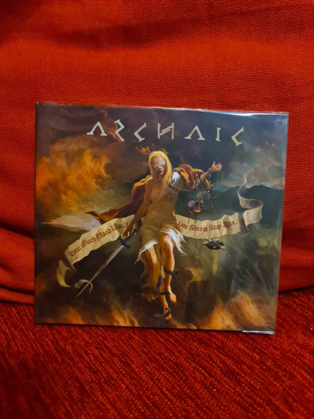 ARCHAIC - HOW MUCH BLOOD WOULD YOU SHED TO STAY ALIVE? CD