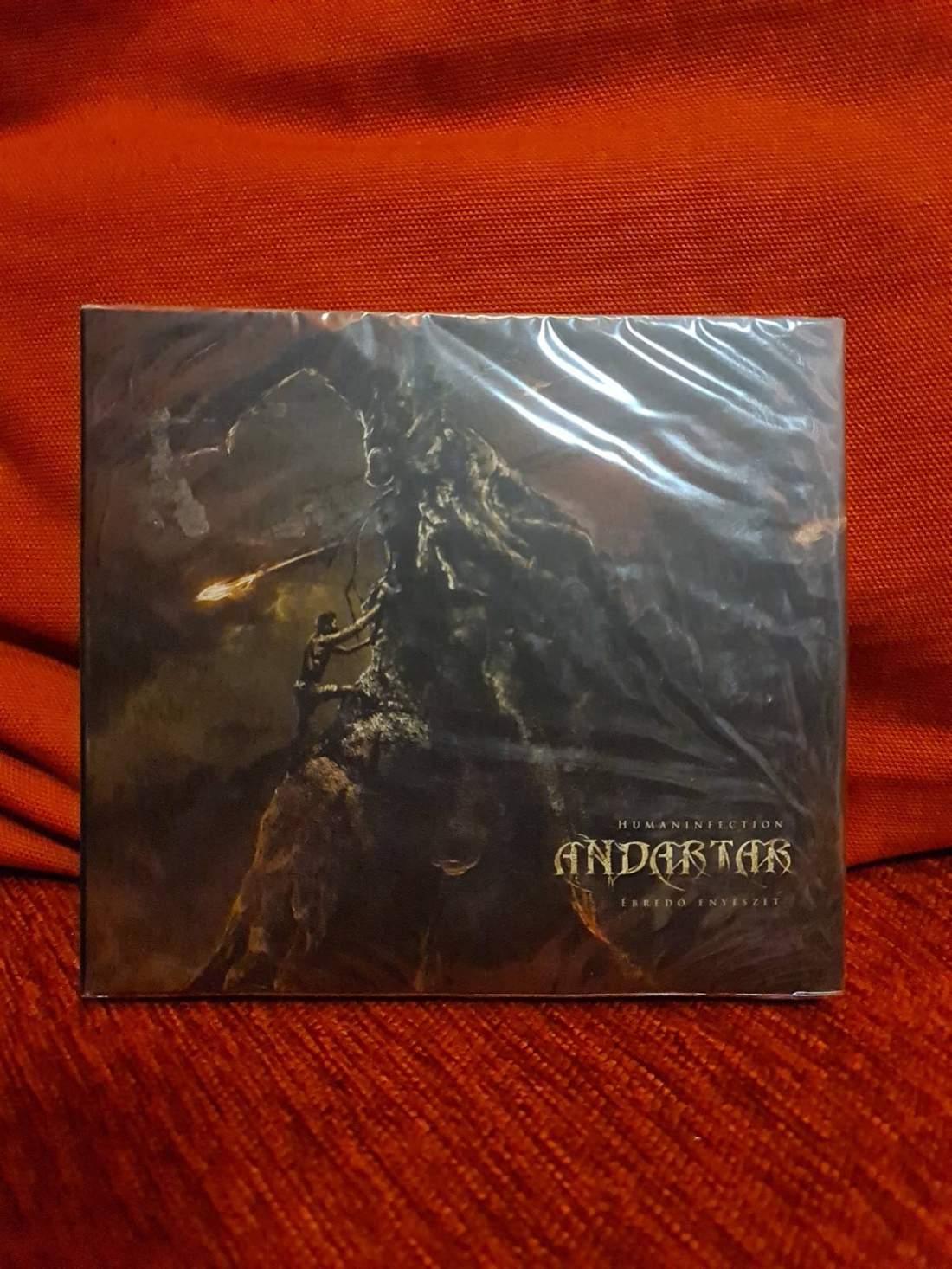 ANDARTAR - ÉBREDŐ ENYÉSZET / HUMANINFECTION 2CD