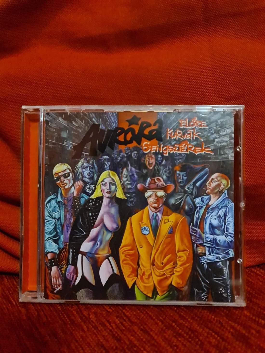 AURORA - ELŐRE K@RVÁK GENGSZTEREK CD