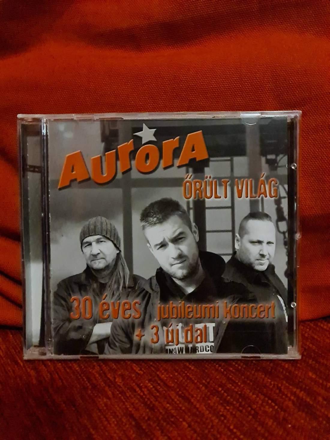 AURORA - ŐRÖLT VILÁG CD