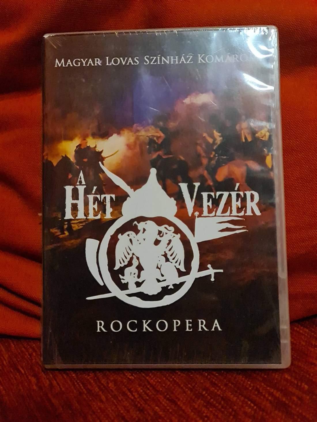 A HÉT VEZÉR - ROCKOPERA DVD