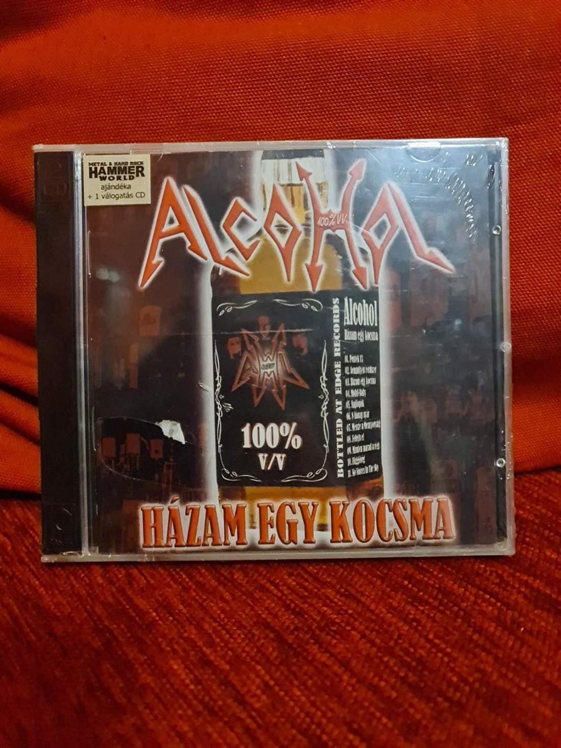 ALCOHOL - HAZÁM EGY KOCSMA CD