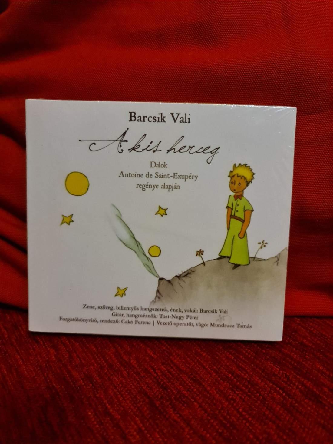 BARCSIK VALI - A KIS HERCEG CD+DVD