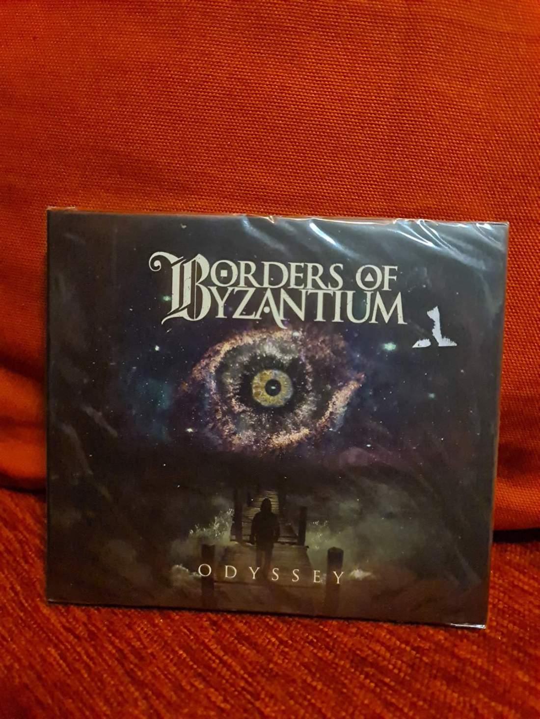 BORDERS OF BYZANTIUM - ODYSSEY CD
