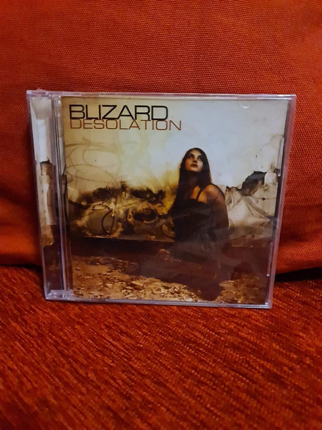 BLIZARD - DESOLATION CD