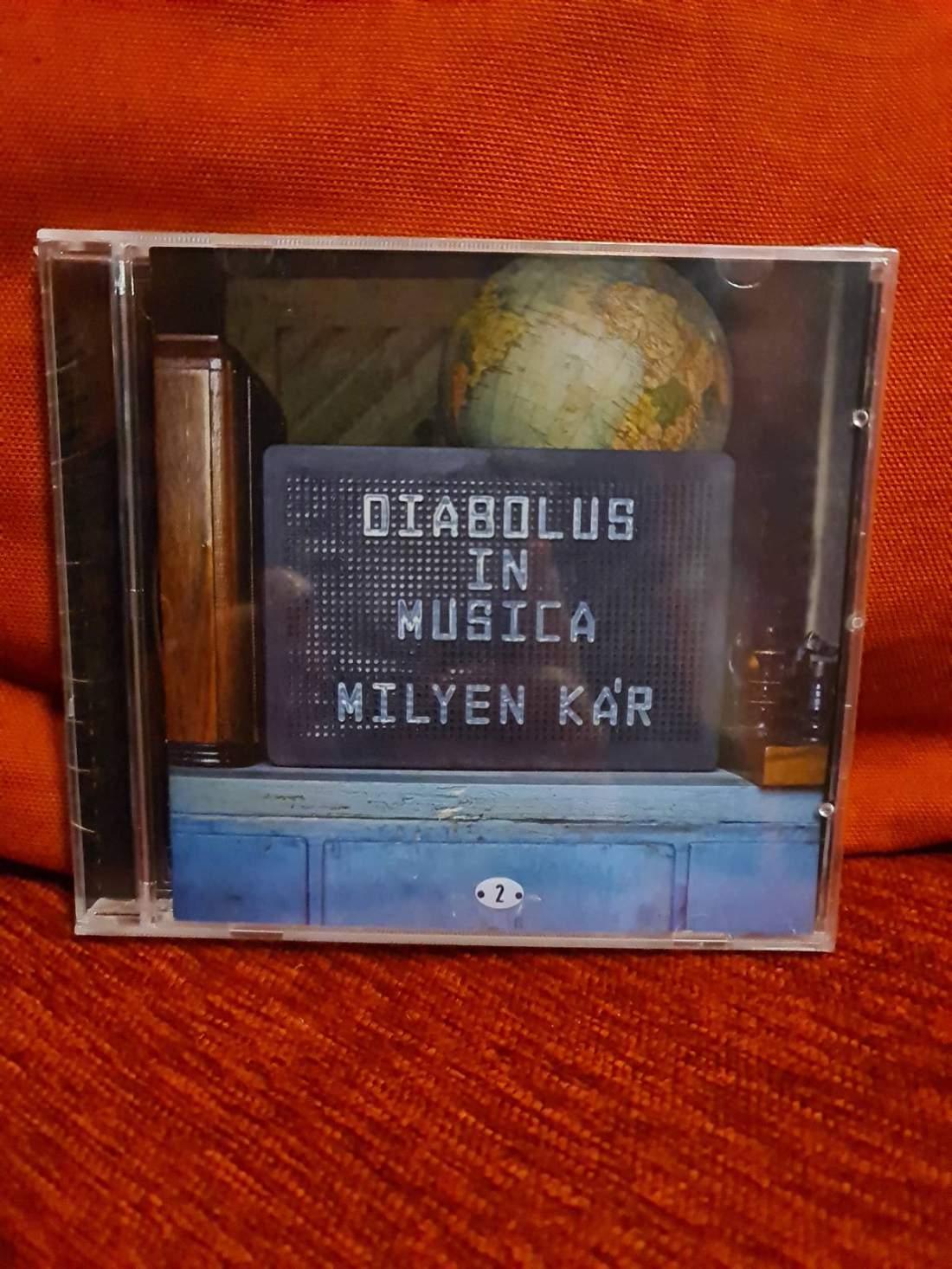 DIABOLUS IN MUSICA - MILYEN KÁR CD