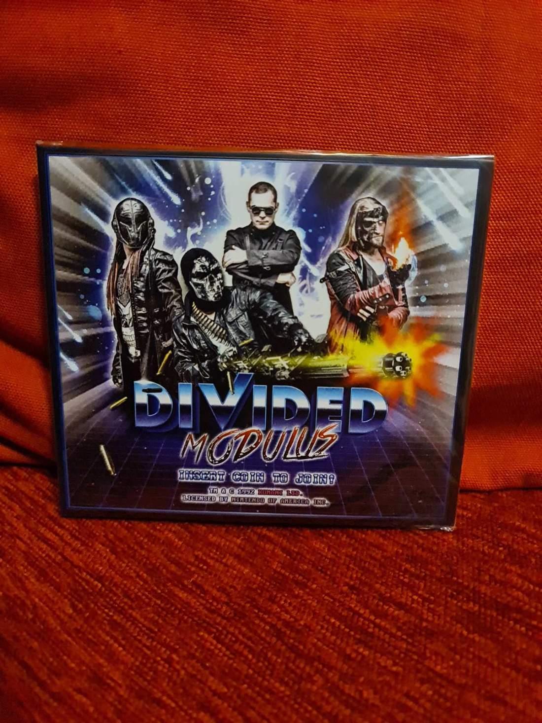 DIVIDED - MODULUS CD