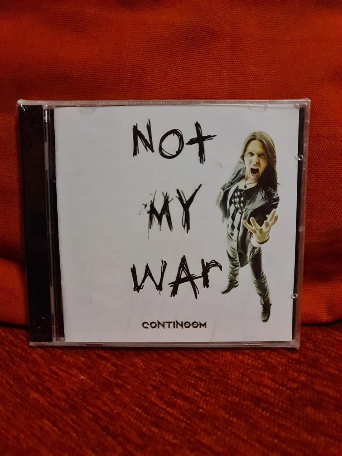 CONTINOOM - NOT MY WAR CD