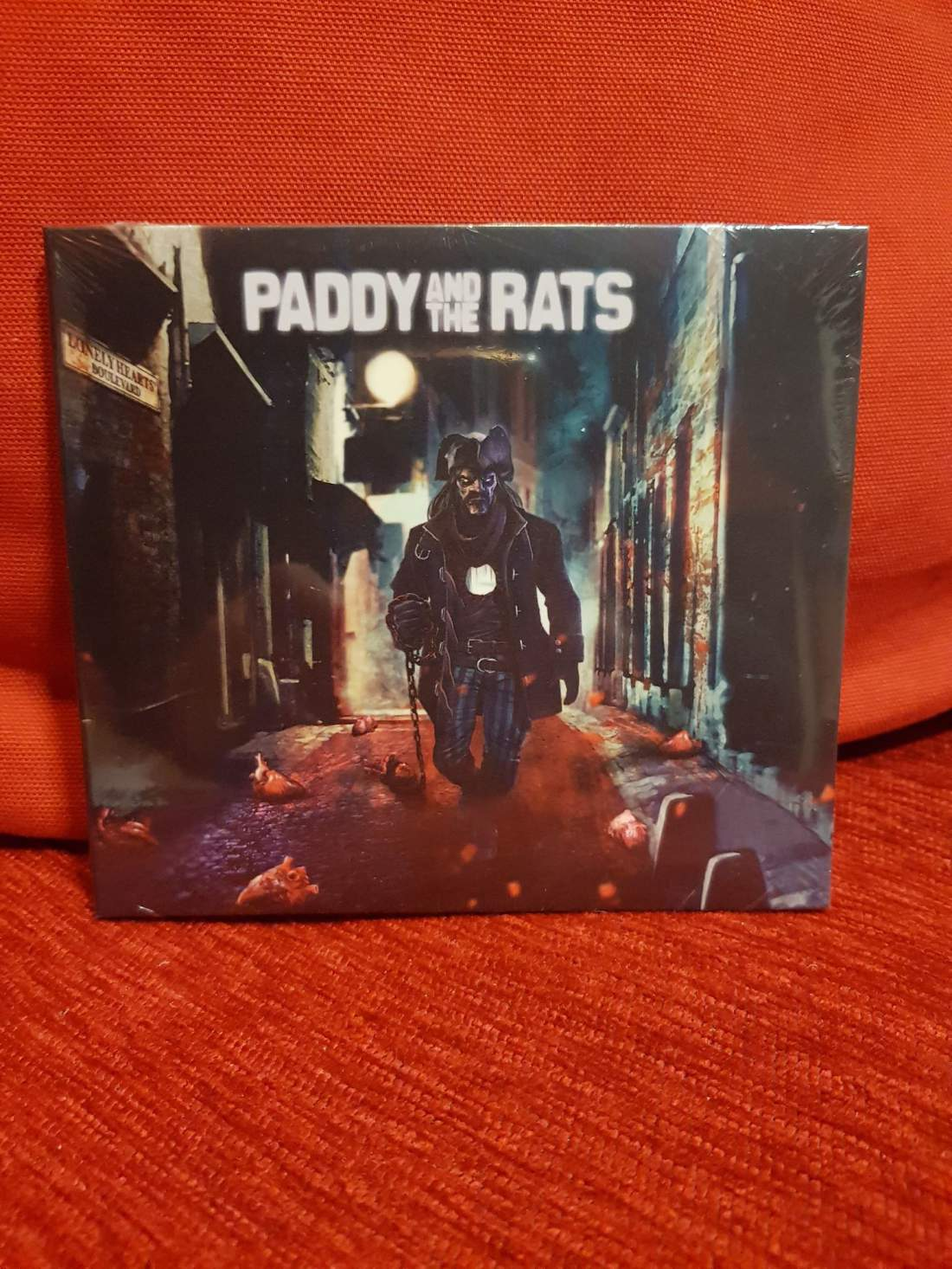 PADDY AND THE RATS - LONELY HEARTS BOULEVARD CD