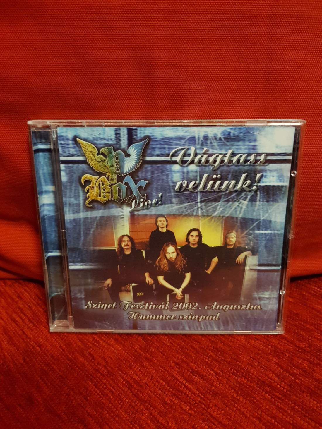 P. BOX - VÁGTASS VELÜNK! LIVE CD