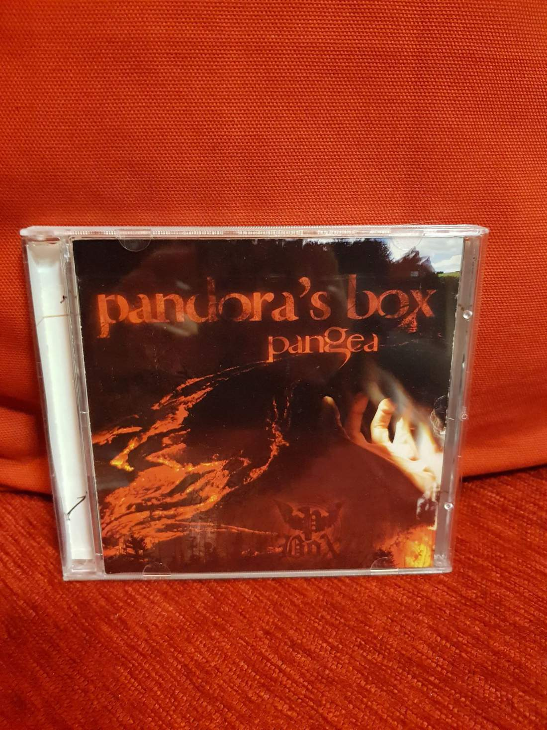 P. BOX - PANGEA CD