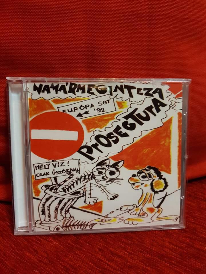 PROSECTURA - NAMÁRMEGINTEZAPROSECTURA  CD