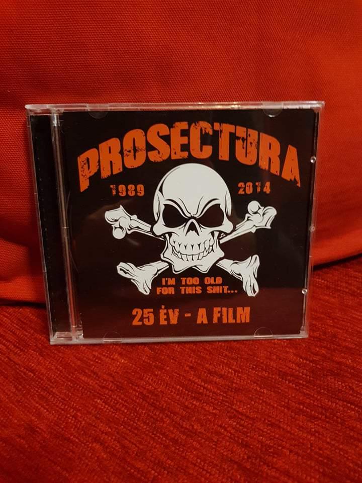 PROSECTURA - 25 ÉV - A FILM CD