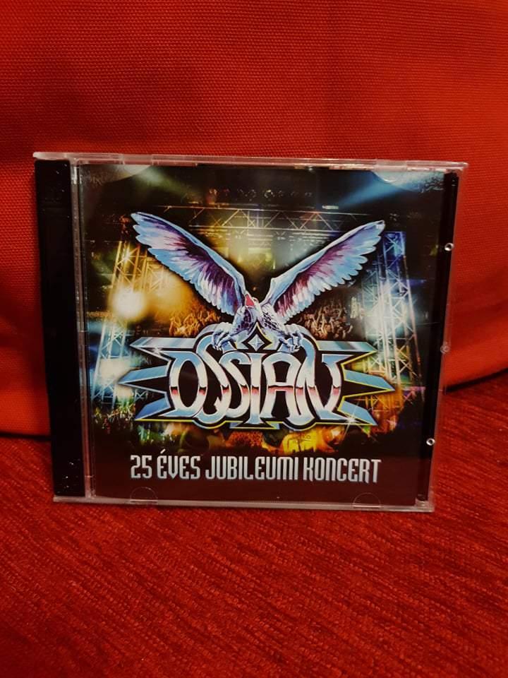 OSSIAN - 25 ÉVES JUBILEUMI KONCERT 2CD