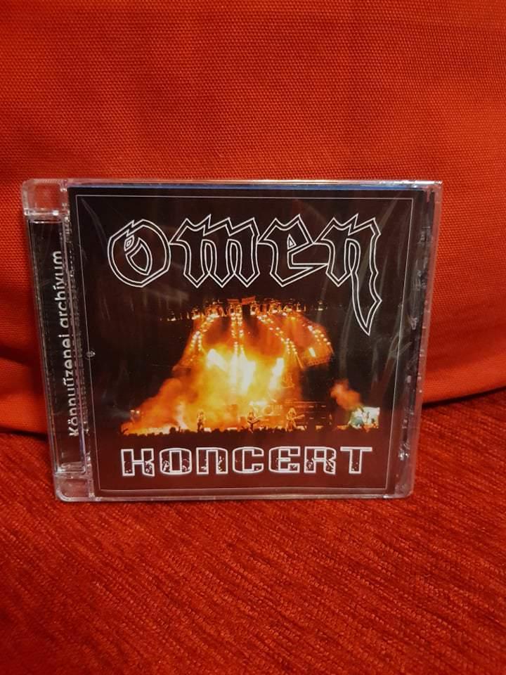 OMEN - KONCERT CD