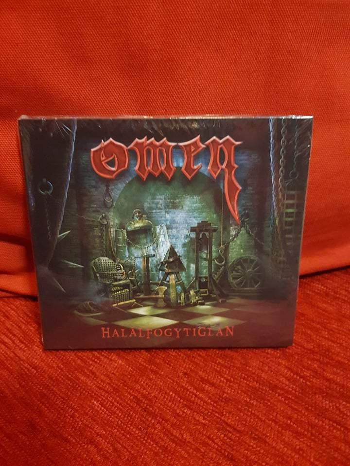 OMEN - HALÁLFOGYTIGTLAN CD