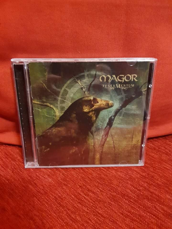 MAGOR - TESTAMENTUM CD