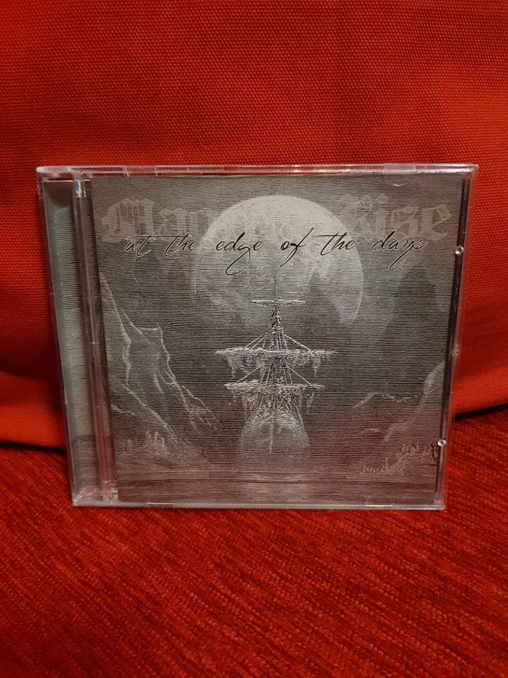 MAGMA RISE - AT THE EDGE OF THE DAYS CD