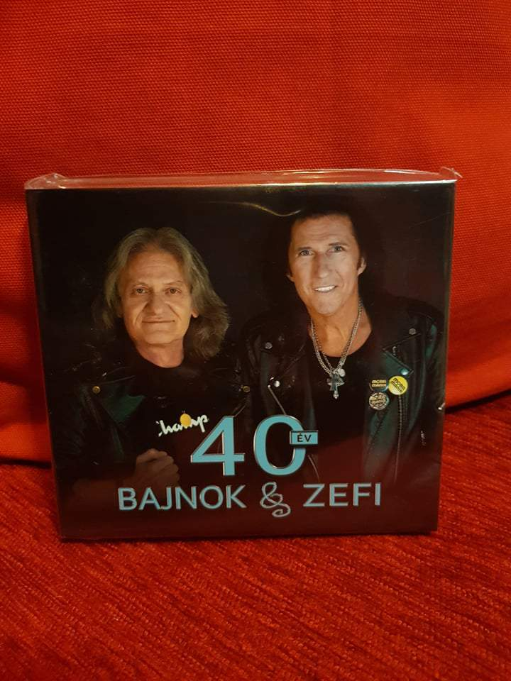MOBILMÁNIA - BAJNOK & ZEFI 40 2CD
