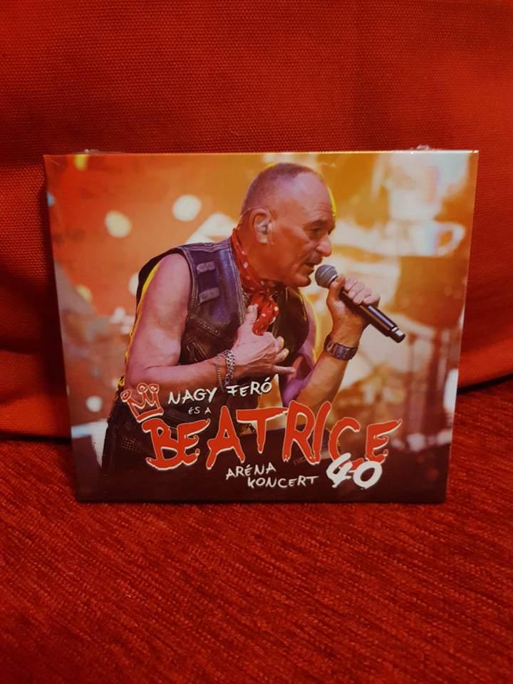 NAGY FERÓ ÉS A BEATRICE 40 - ARÉNA KONCERT 2CD